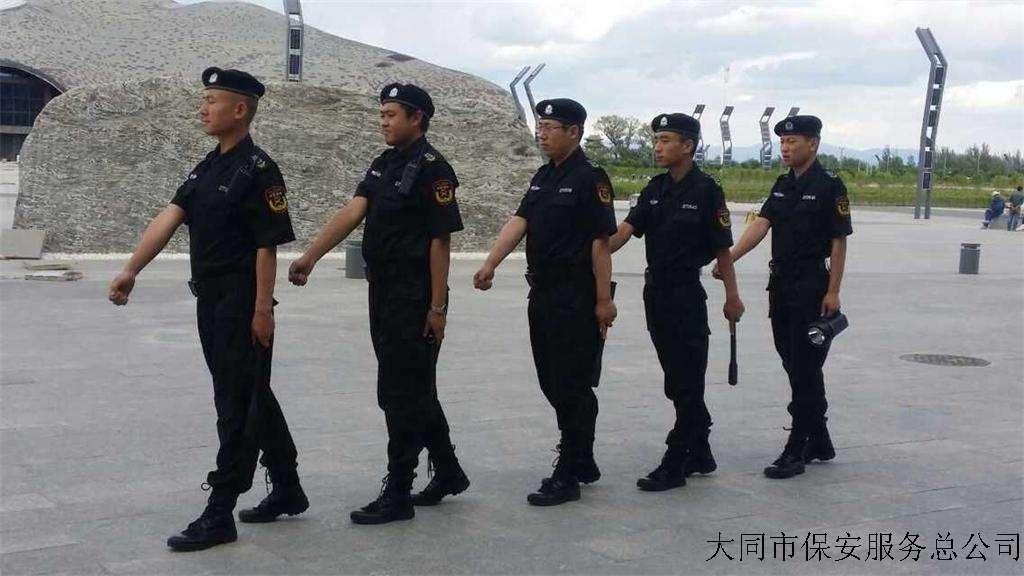 博物馆守护大队训练