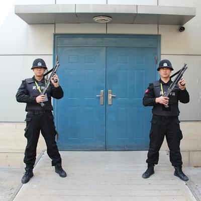 金融系统金库武装守卫